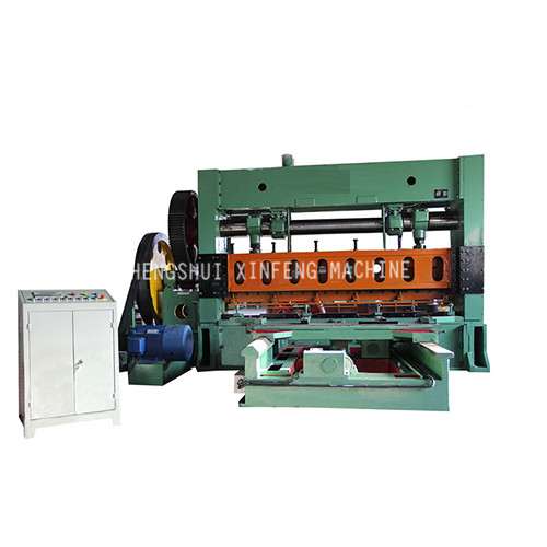 XF-4-2500 (100T) expanded metal machine(Sheet Moving)